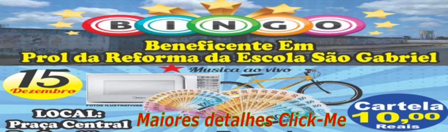Bingo Colégio São Gabriel